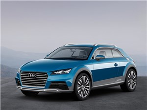Audi Allroad Shooting Brake Concept 2014 вид спереди