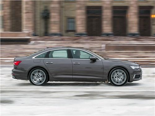 Audi A6 55 TFSI quattro 2019 вид сбоку