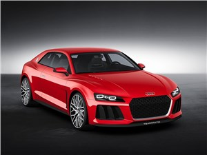 Audi Sport quattro Laserlight Concept 2014 основной вид
