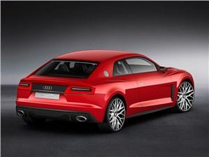 Предпросмотр audi sport quattro laserlight concept 2014 вид сзади