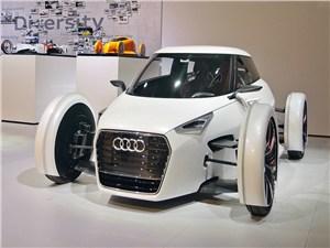 Прототипы Audi пока выглядят настоящими гостями из будущего