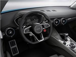 Предпросмотр audi allroad shooting brake concept 2014 водительское место