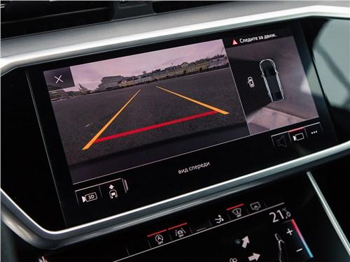 Audi A7 Sportback 2018 монитор