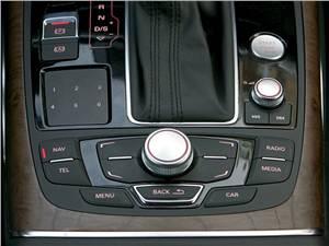 Audi A6 Hybrid 2012 интерфейс MMI