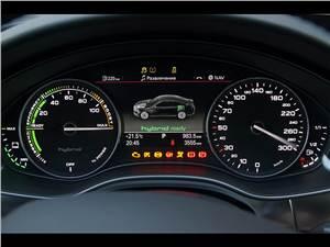 Audi A6 Hybrid 2012 приборная панель