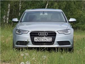 Audi A6 Hybrid 2012 вид спереди