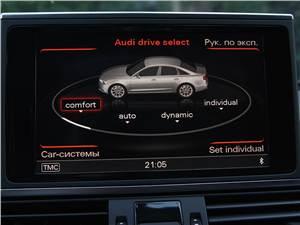 Audi A6 Hybrid 2012 дисплей MMI