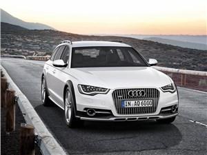 Audi A6 allroad quattro - Audi A6 allroad quattro 2013 вид спереди