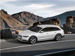 Audi A6 allroad quattro - Audi A6 allroad quattro 2013 вид сбоку