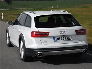 Предпросмотр audi a6 allroad quattro 2013 вид сзади
