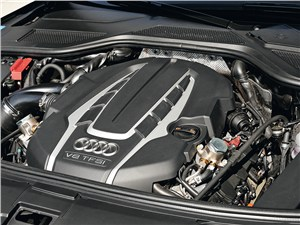 Audi A8 L Security 2013 двигатель