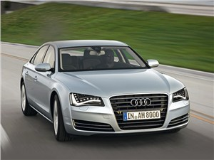 Audi A8 - audi a8 hybrid 2013 вид спереди
