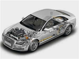 Audi A8 Hybrid 2013
