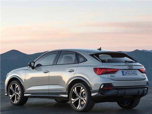 Новость про Audi - Audi представила кросс-купе Q3 Sportback
