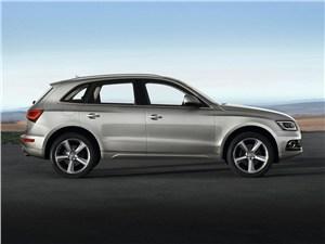 Audi Q5 - Audi Q5 2013 вид сбоку