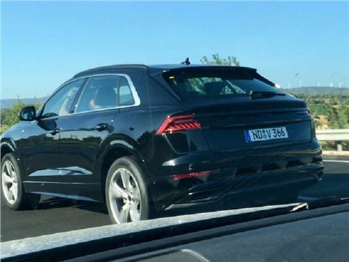 Новость про Audi - Audi Q8