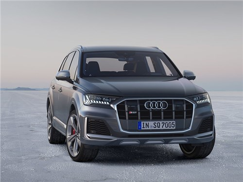 Новость про Audi - Audi рассекретила обновлённый SQ7 TDI