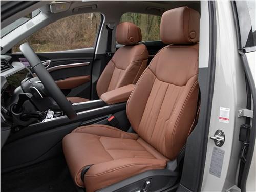 Audi e-tron Sportback (2021) передние кресла