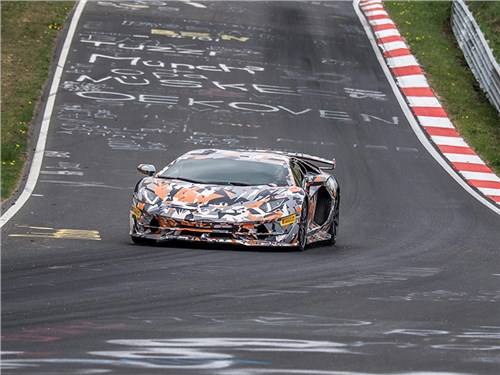 Lamborghini установила новый рекорд Нюрбургринга