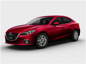 Mazda Axela 2013 вид спереди 3/4