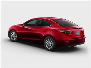 Mazda Axela 2013 вид сзади