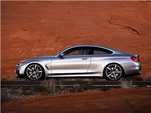 BMW 4 series - BMW 4-Series 2013 вид сбоку