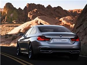 BMW 4 series - BMW 4-Series 2013 вид сзади