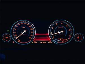 BMW 760Li 2012 приборная панель
