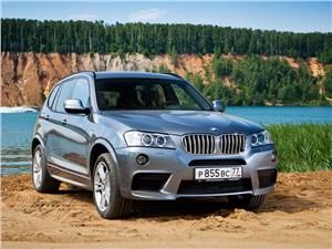 BMW X3 2011 вид спереди
