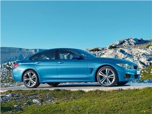 BMW 4 Series Gran Coupe 2014 вид сбоку