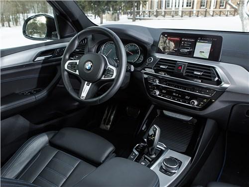 BMW X3 2018 салон
