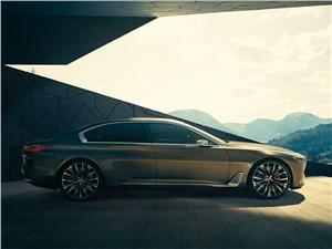 Предпросмотр bmw vision future luxury concept 2014 вид сбоку