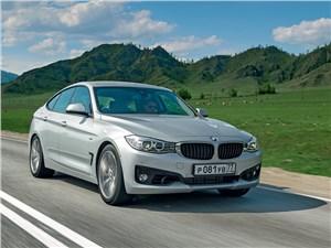 BMW 3 Series GT - bmw 3 series gt 2013 вид спереди