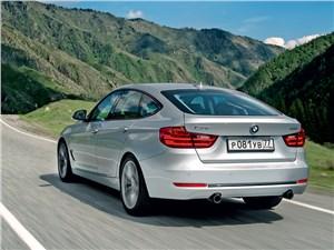 BMW 3 Series GT - BMW 3 series GT 2013 вид сзади
