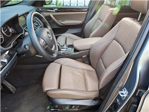 Предпросмотр bmw x3 2011 передние кресла