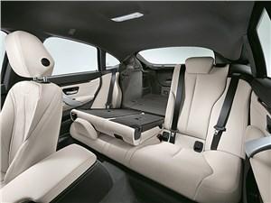 BMW 4 Series Gran Coupe 2014 задний диван