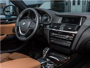 BMW X4 2014 водительское место