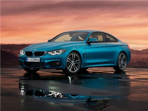 BMW привезет в Россию обновленное семейство 4-Series
