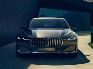 Предпросмотр bmw vision future luxury concept 2014 вид спереди