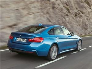 BMW 4 Series Gran Coupe 2014 вид сзади