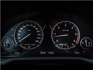 BMW X4 2014 приборная панель