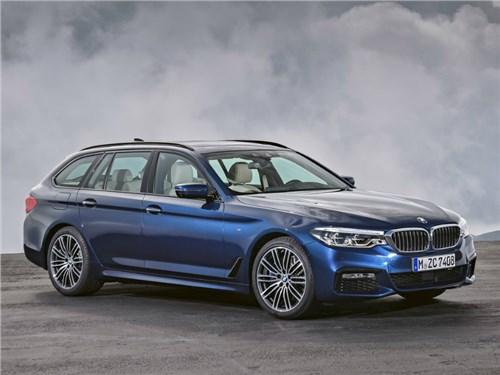 Новость про BMW 5 series - BMW представила новое поколение универсала 5-Series