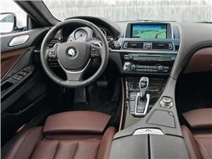 BMW 6 Series Gran Coupe 2012 водительское место