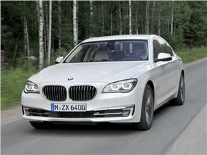 BMW 7 series 2013 вид спереди