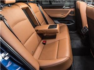 BMW X4 2014 задний диван