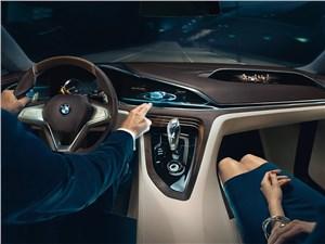 Предпросмотр bmw vision future luxury concept 2014 водитель и пассажир