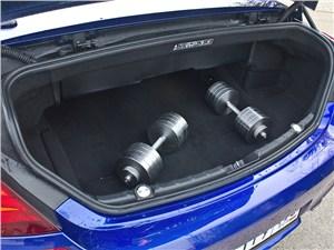 Предпросмотр bmw m6 cabrio 2012 багажное отделение