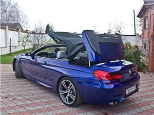 Предпросмотр bmw m6 cabrio 2012 вид сзади