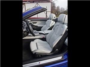 Предпросмотр bmw m6 cabrio 2012 водительское кресло