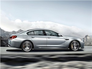 BMW M6 Gran Coupe - BMW M6 Gran Coupe 2013 вид сбоку